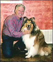 Dr. Sanders With Reveille